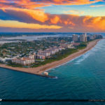 Easternmost Point In Florida Sunrise Singer Island Aerial Photog