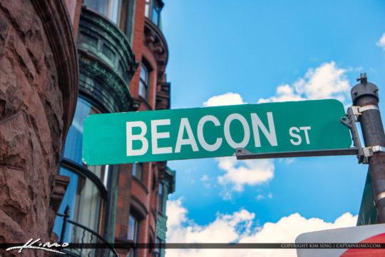 Beacon Street Boston Massachusetts