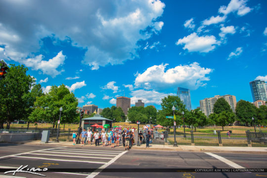 Boston Common Skyline Boston Massachusetts