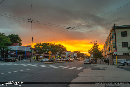 Sunset Street Cambridge Massachusetts