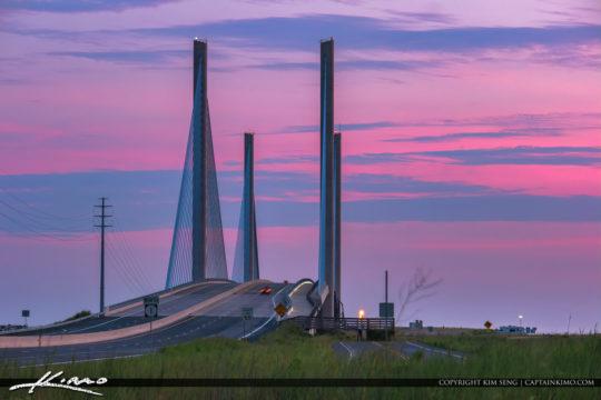 Charles W Cullen Bridge Delaware National Seashore South Inlet