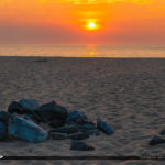 Coin Beach Delaware National Seashore North Inlet Sunrise Firepl