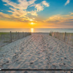 Coin Beach Delaware National Seashore North Inlet Sunrise