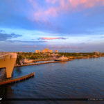 17 Street Causeway Bridge Marina Fort Lauderdale Florida Sunset