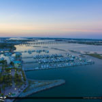 Fort Pierce Downtown Marina High Resolution Aerial