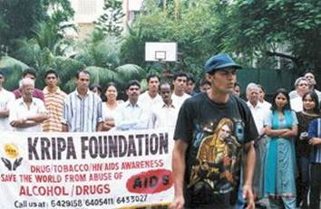 Kripa Foundation De-Addiction Drive