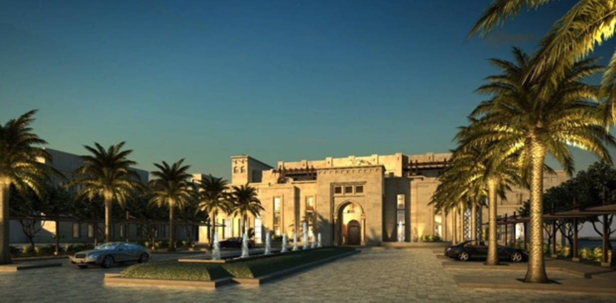 The proposed drug and alcohol rehab center in Abu Dhabi