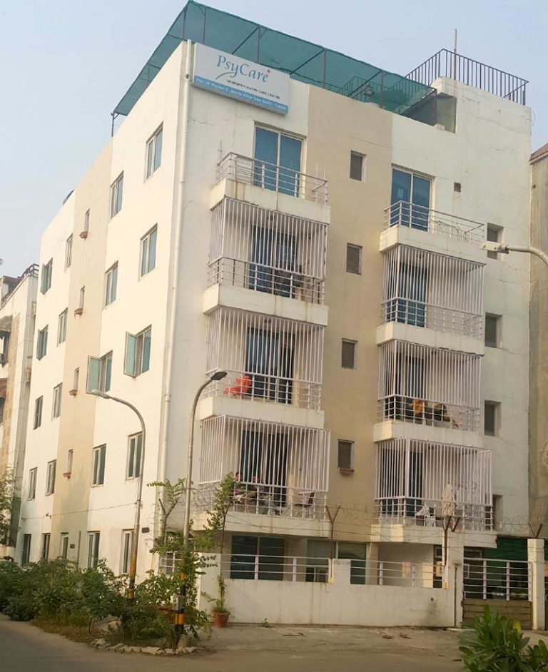An Exterior View of PsyCare Rehabilitation and Treatment Center in Delhi
