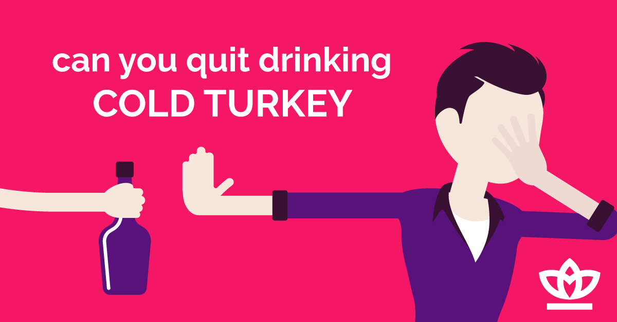 all about quitting drinking cold turkey