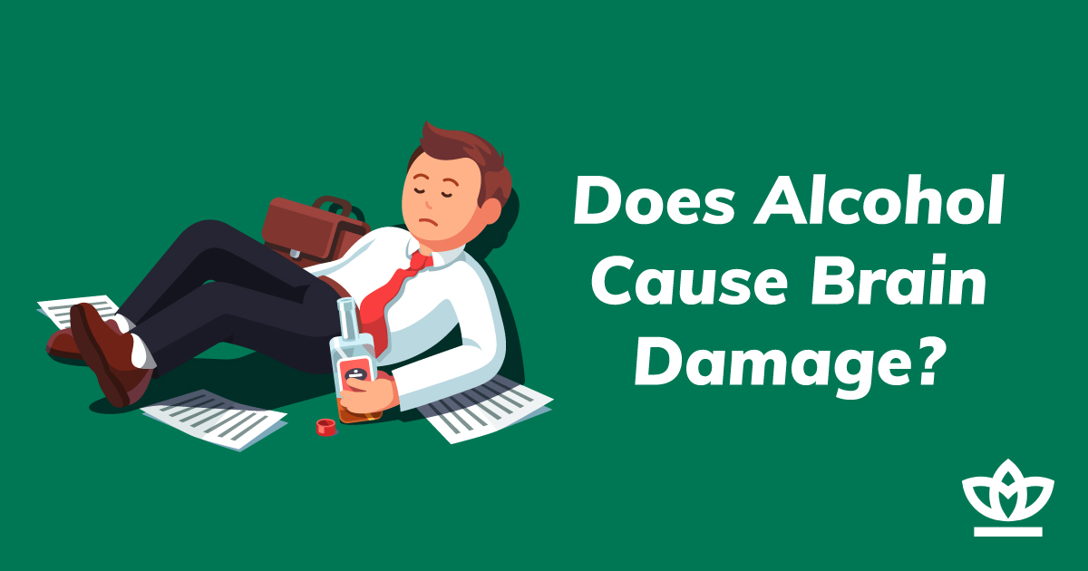 does alcohol cause brain damage