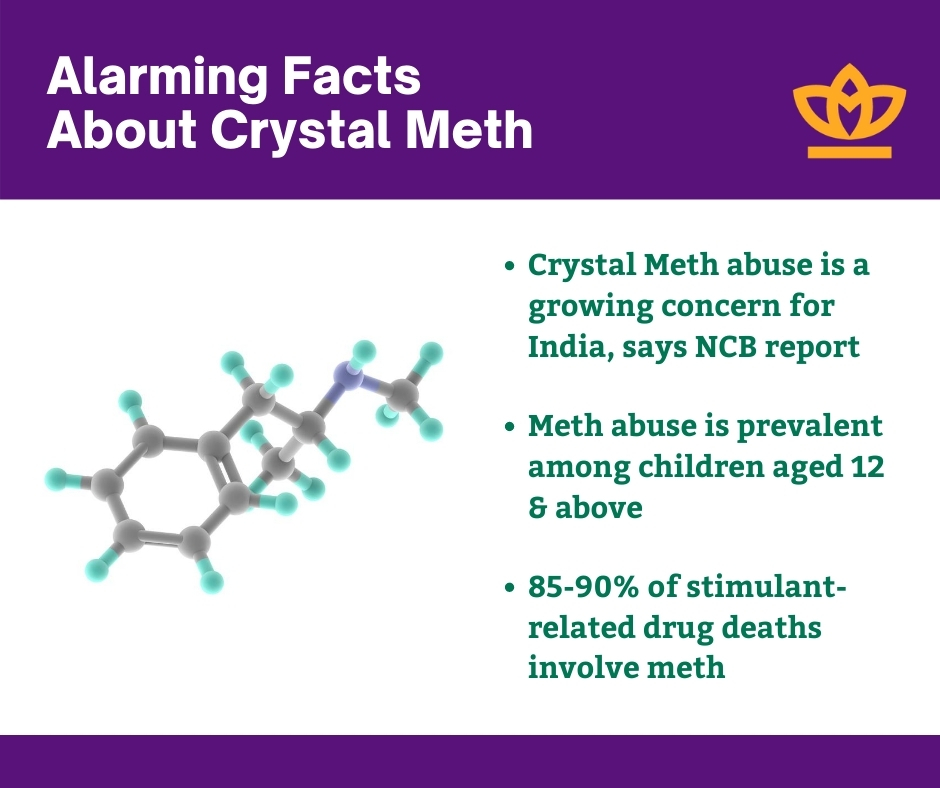 Alarming facts about crystal meth