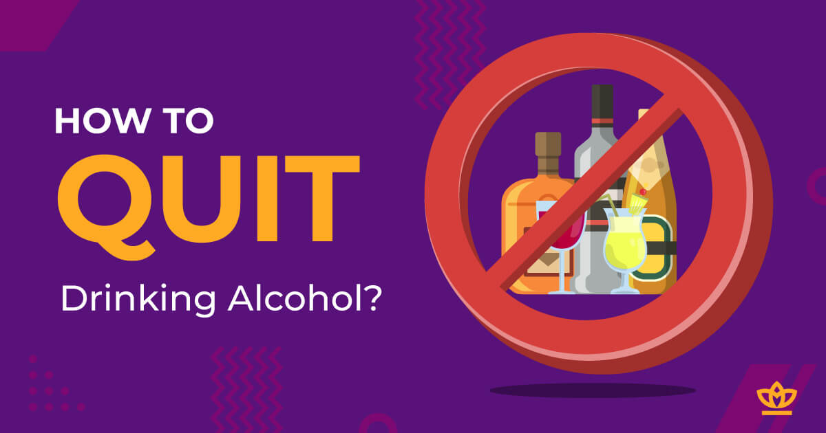 how to quit drinking alcohol