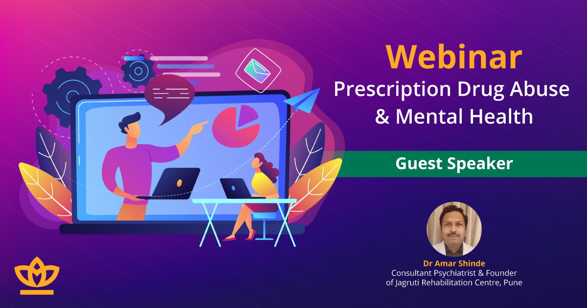 Webinar - Prescription drug abuse and mental health