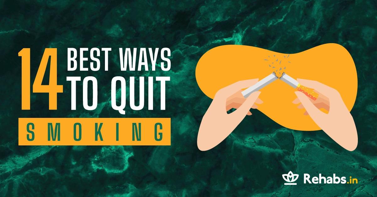 14 best ways to quit smoking