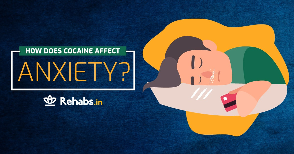 effect of cocaine on anxiety