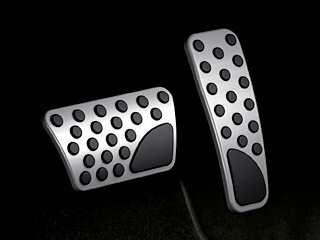 Jeep Grand Cherokee Pedal Covers - Mopar (82212055)
