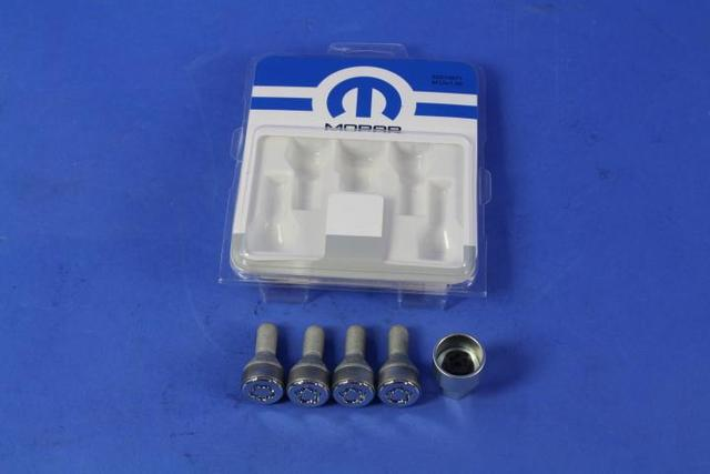 Wheel Locks, One-Piece - Mopar (82214871)