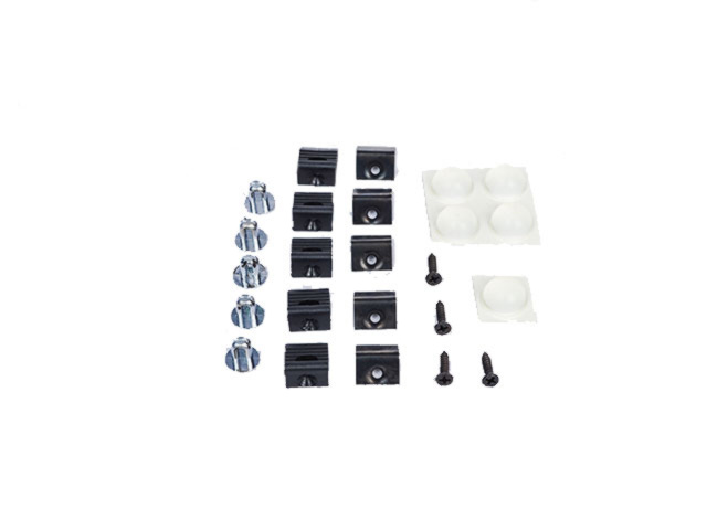 Deflector Kit, Air, Front, Hardware Kit