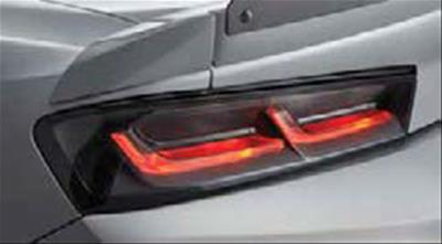 2016-2019 Chevrolet Camaro Genuine GM Rear Darkened Tail Lights - GM (84136777)