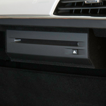 Audio, CD Player, Glove Box Mounted