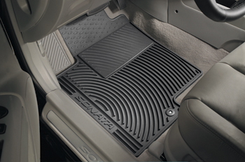 Floor Mats, All Weather (Front)