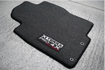 Floor Mats, Carpet, New Pro-4X Logo