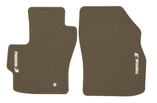 Floor Mats, Carpet - Mazda (0000-8B-L03B-30)