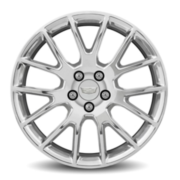 "19"" Wheel, Rear, 7 Split-Spoke Polished"