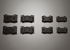 Brake Pads, High Friction (Rear)