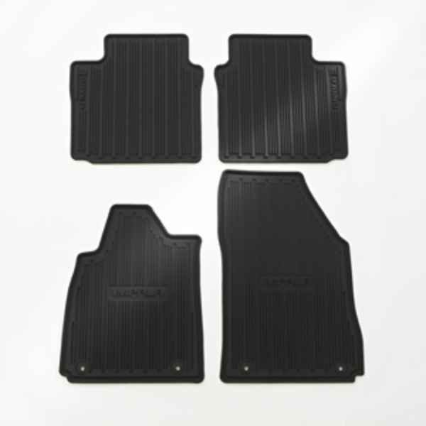 Floor Mats, Serviceable Components