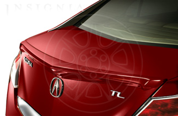 Decklid Spoiler - Basque Red Pearl II
