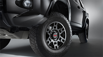 TRD 17-IN. MATTE BLACK ALLOY WHEEL (CALL FOR SHIPPING TO AK/HI) - Toyota (PTR2035110BK)