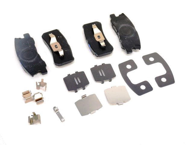Rear Disc Brake Pad Kit - Mopar (68028671AA)