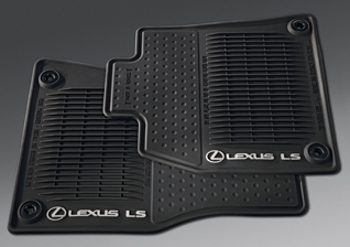 Floor Mats, All-Weather, Set Of Four, Awd