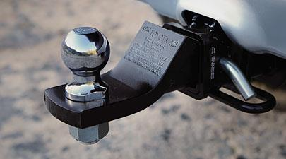 Tow Hitch Ball Mount