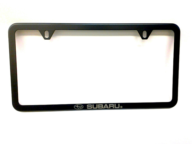 License Plate Frame, Slim Line Subaru