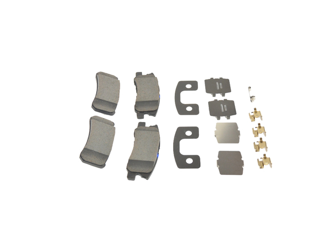 Brake Pads, Left Rear, Right Rear, Rear