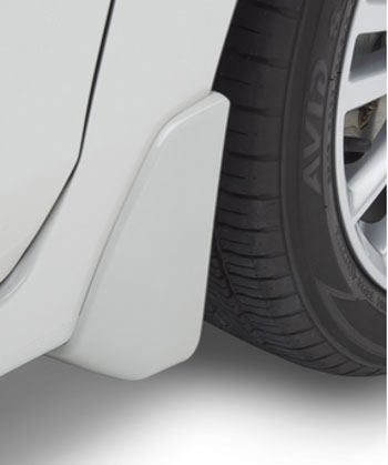 Splash Guards 4 Dr- Crystal White Pearl