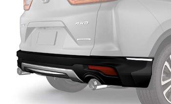Bumper, Rear Aero *NH731P* (Crystal Black Pearl)