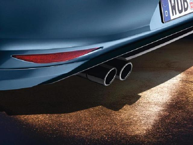 Exhaust Tips - Black