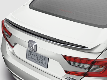 Honda Genuine Accessories 08F10-T2A-110 Alabaster Silver Metallic Deck Lid Spoiler for Select Accord Models