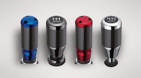 Shift Knob, Carbon Fiber Anodized Red