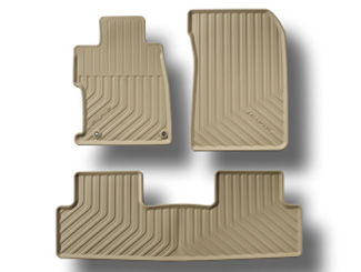 12' HONDA CIVIC All-Season Floor Mats (BEIGE) - Honda (08P13-TR0-120)