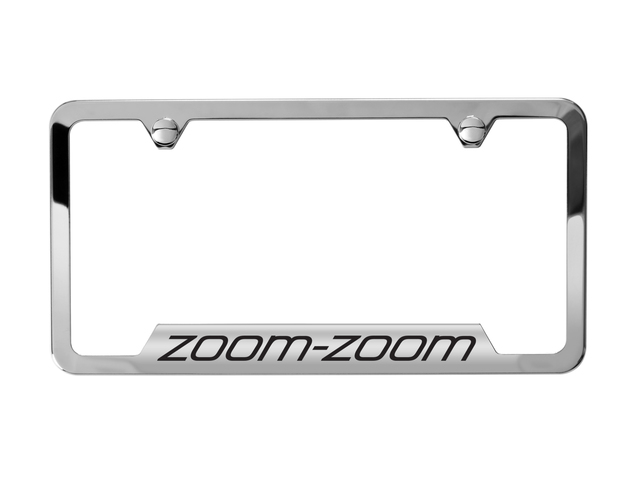 License Plate Frame, Cx-9 Logo - Mazda (0000-83-N35)