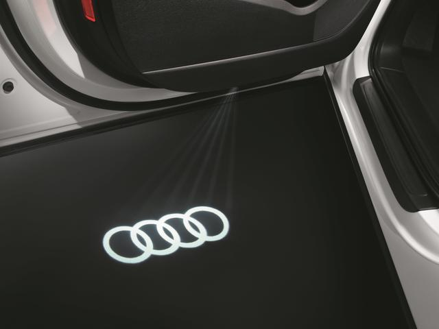 Audi Beam - RINGS logo Door LIghts - Audi (4G0-052-133-G)