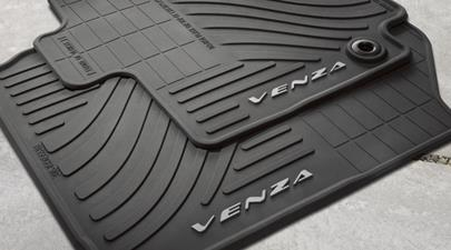 Venza All Weather Mats Black - Toyota (PT206-0T130-20)