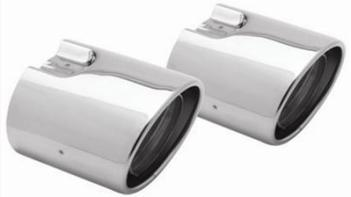 TAIL PIPE COVER POLISHED STAINLESS FOR NON-TURBO SEDAN