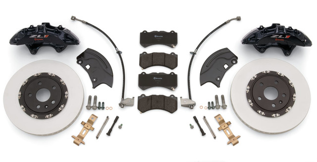 SS V-8 Camaro to ZL1 Brembo Front Brake Conversion Kit