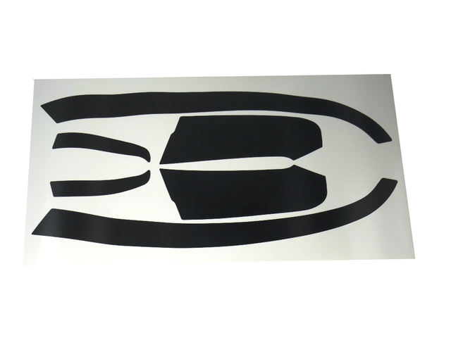 Headlight Blackout Eyeliner Decal