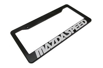 License Plate Frame, Mazdaspeed